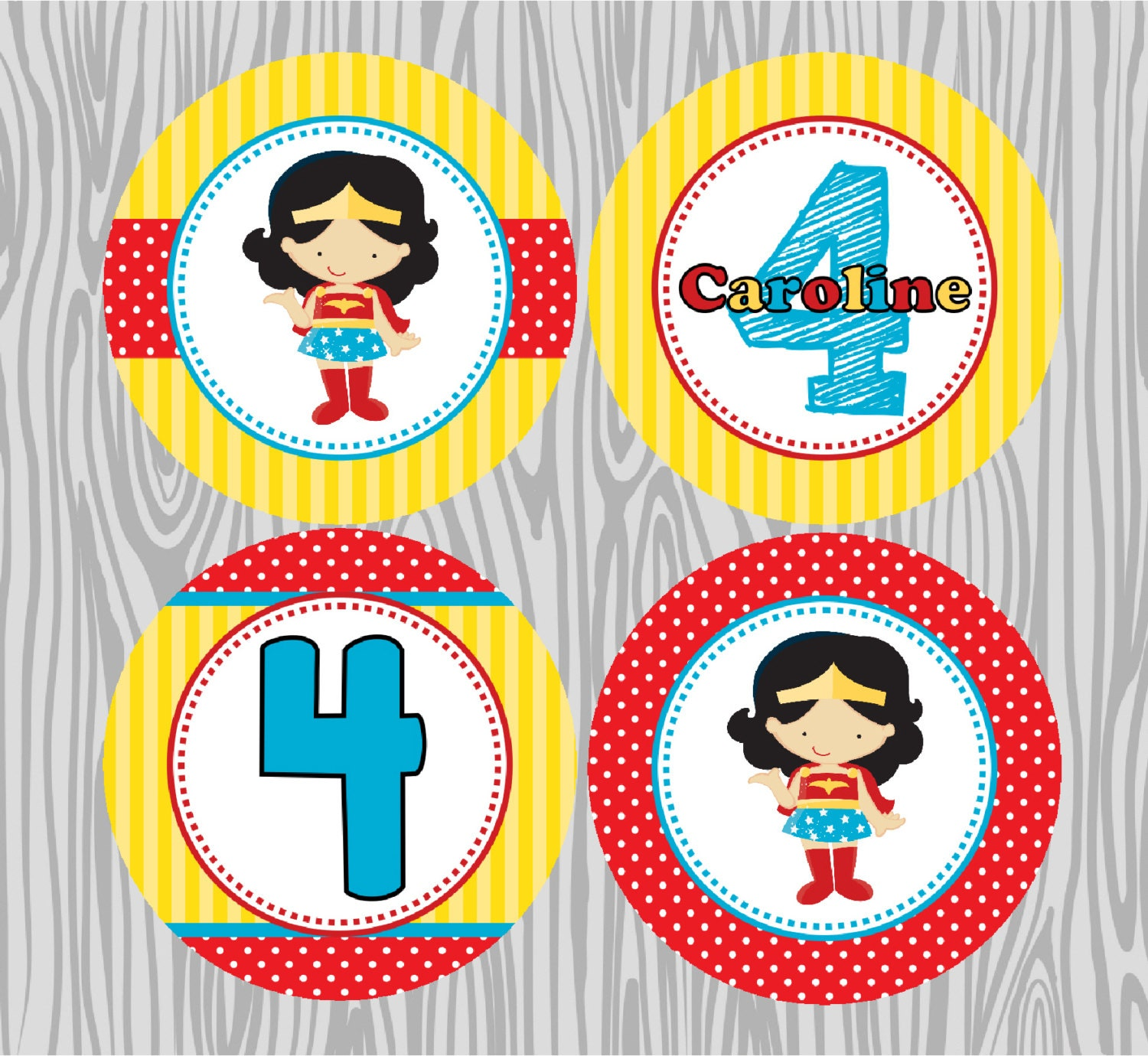 Wonder Woman Birthday Invitations for best invitation layout