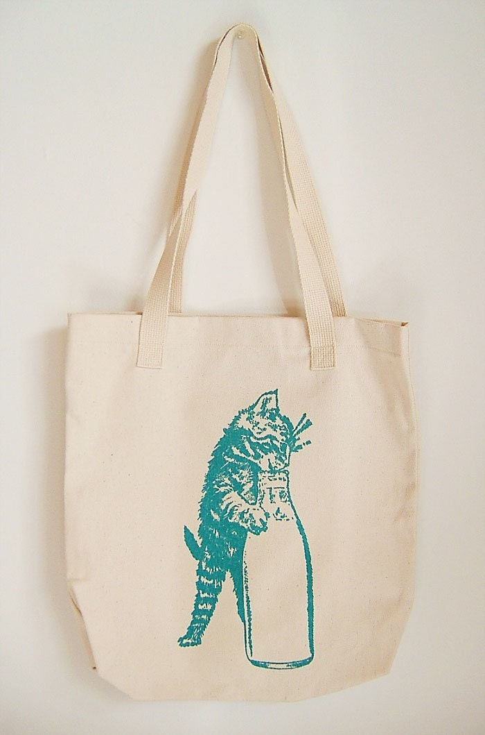 Thirsty Kitten Tote Bag SALE