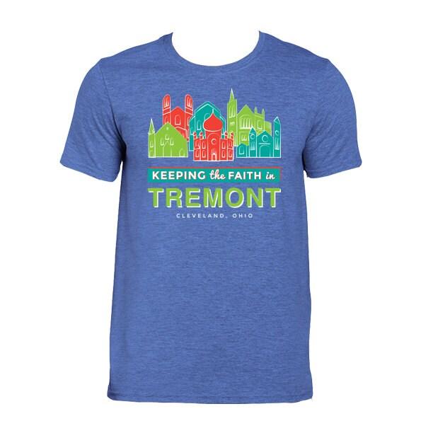 Items similar to tremont cleveland 5x7 on etsy for T shirt printing lakewood ohio