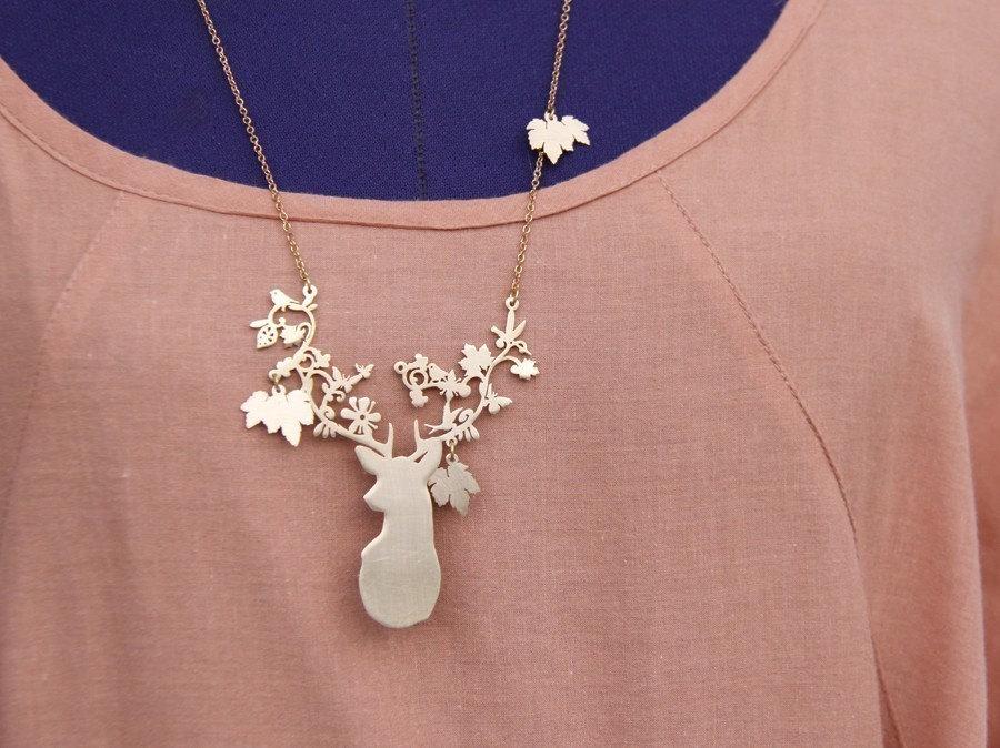 Dream Deer Necklace