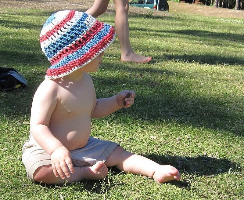 Crochet Pattern Sun Hat