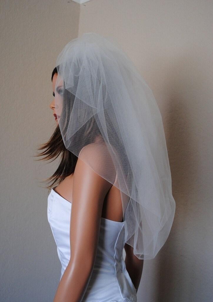 Yesenia bubble/Bustle Veil