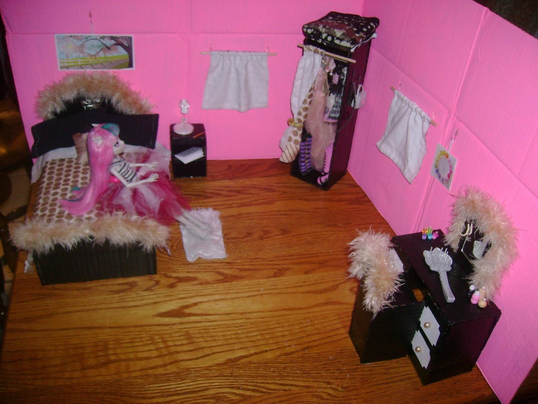 Monster High Doll Bedroom Play Set By Princesssilva On Etsy