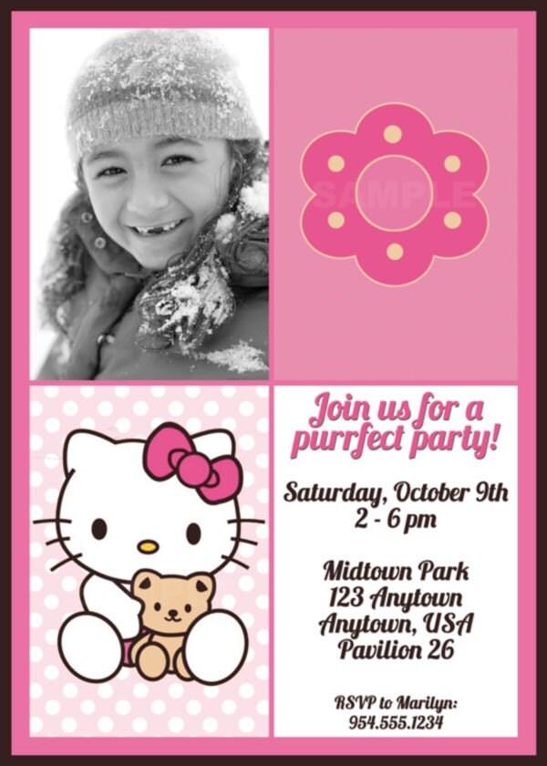 High Resolution Hello Kitty Images. Hello Kitty Invitation