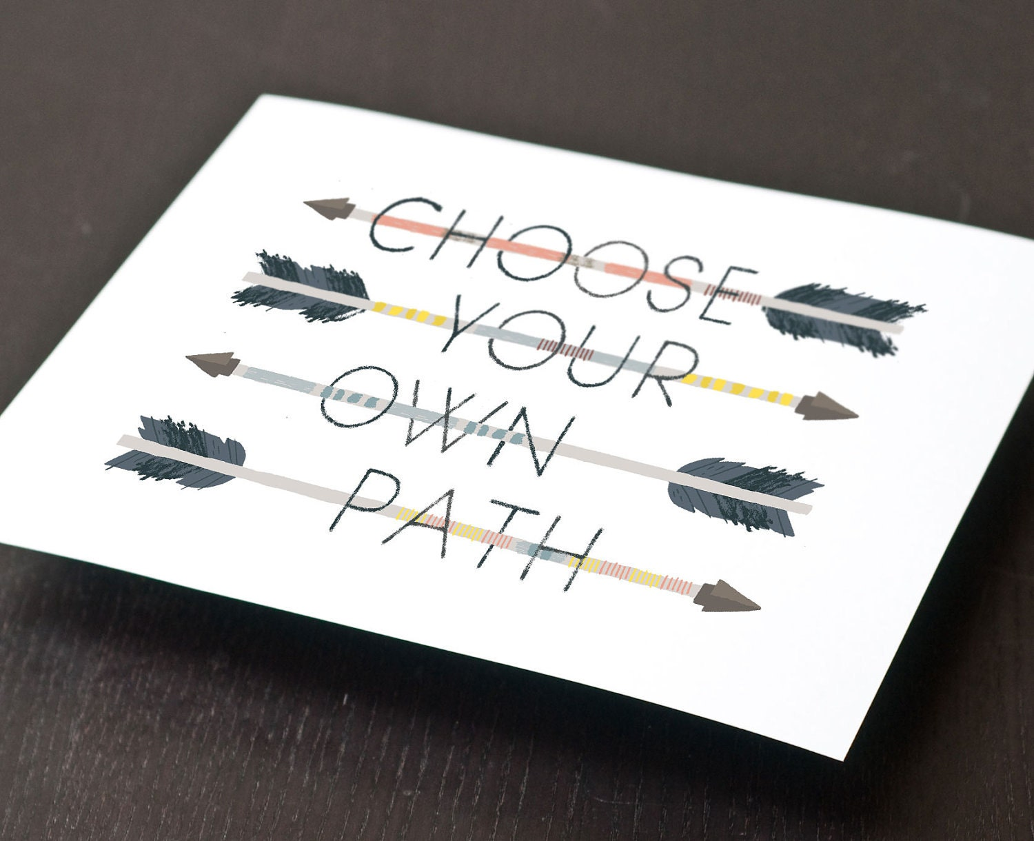 Choose Your Own Path Print