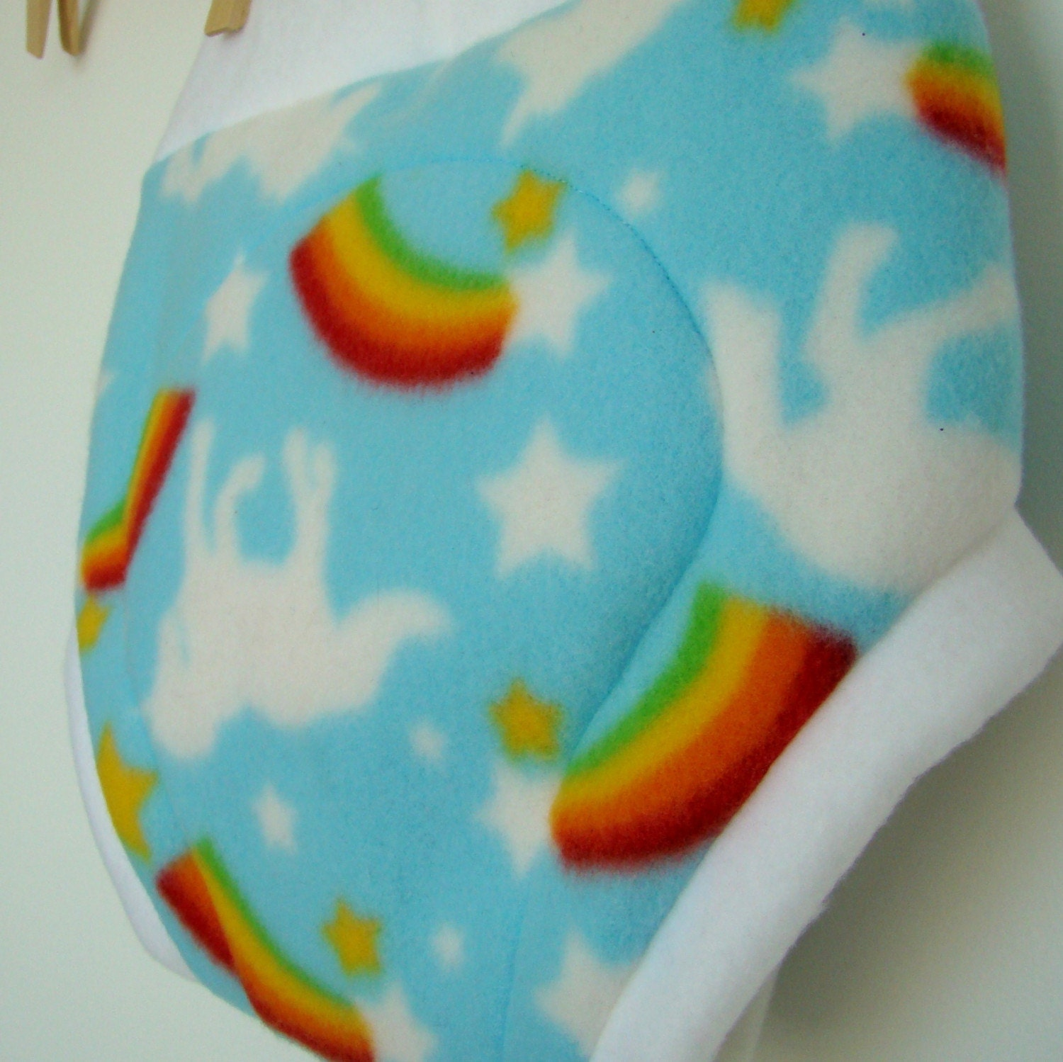 The Last Unicorn - Fleece Cloth Diaper Cover Soaker - S, M, L