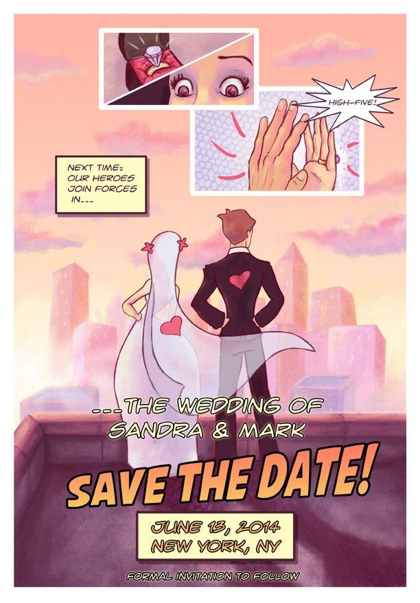 Nerdy Wedding Invitations is awesome invitation ideas