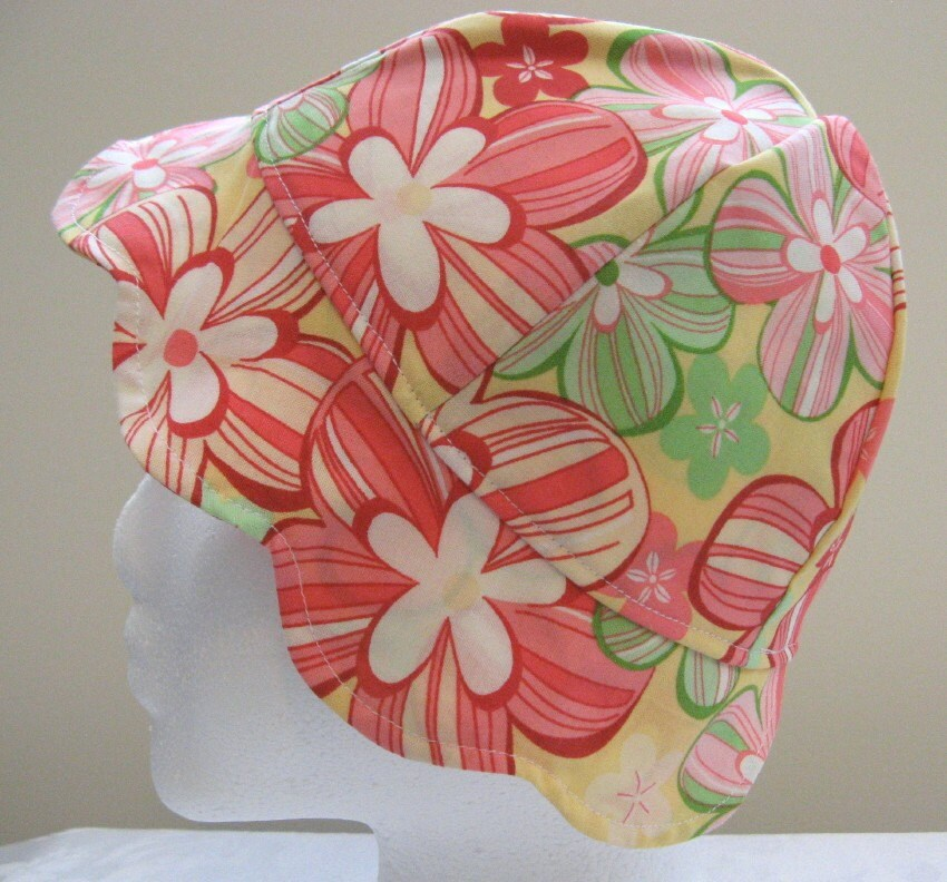 Infant / Toddler Sweetheart Sun Hat by Nana Brown's - Floral