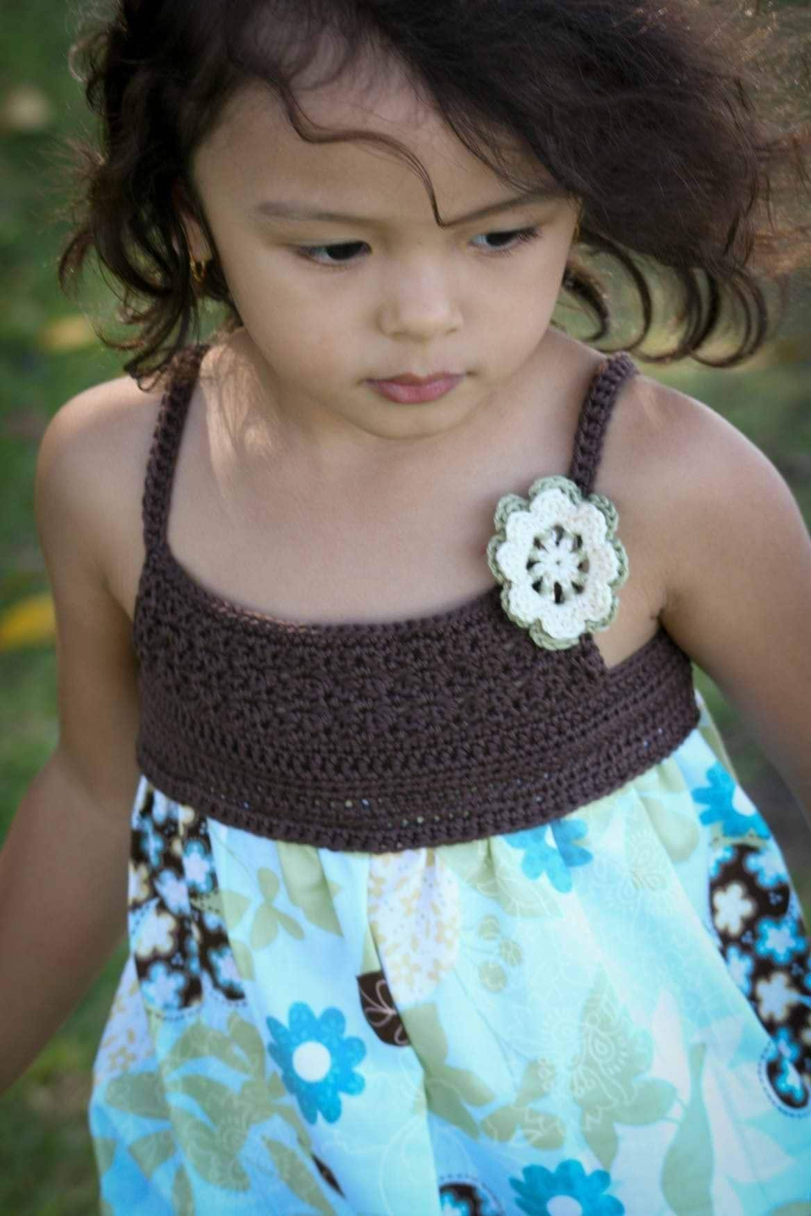 Crochet Geek - Free Instructions and Patterns: Crochet Baby Dress