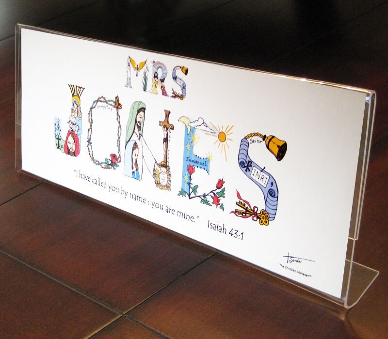 Teachers Gift For Christmas Personalized By
