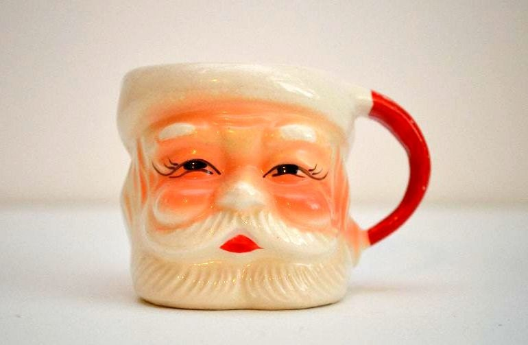 Vintage Santa Mugs 4 Made In Japan By Vintagerescuer On Etsy