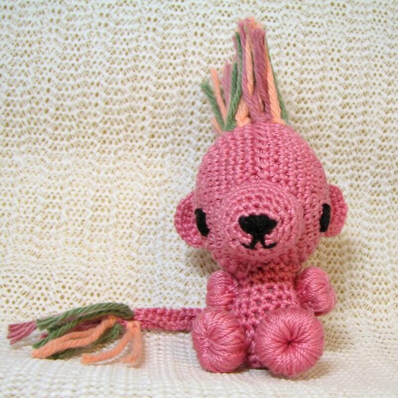 Handmade Sweet Amigurumi Chibi                                 Animal