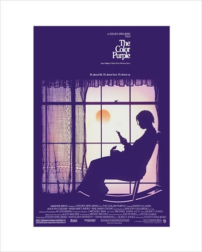 8x10 - The Color Purple - Movie Poster Print