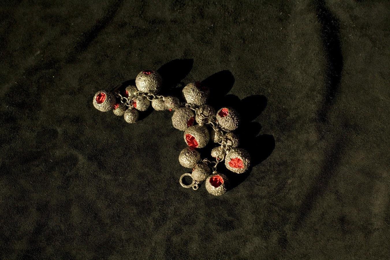 Spiky orb bracelet