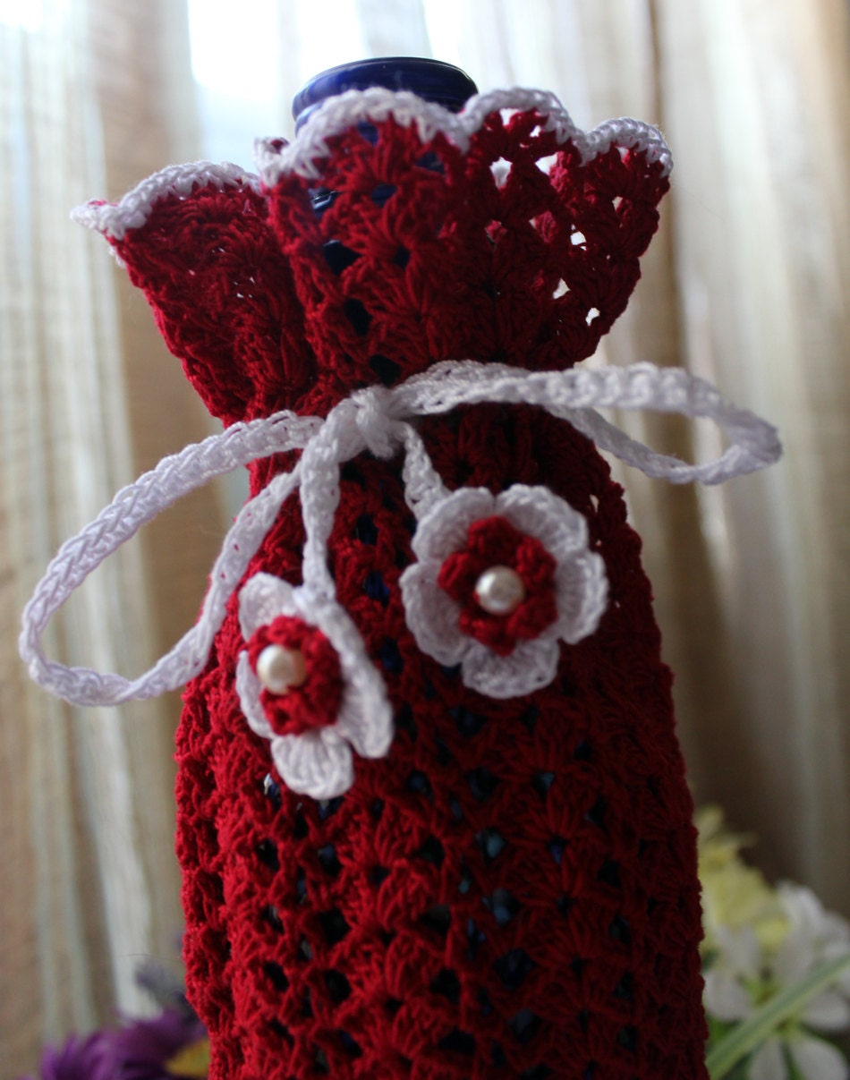 Free Crochet Patterns For Jug Covers : 1000+ images about crochet wine bottle covers on Pinterest