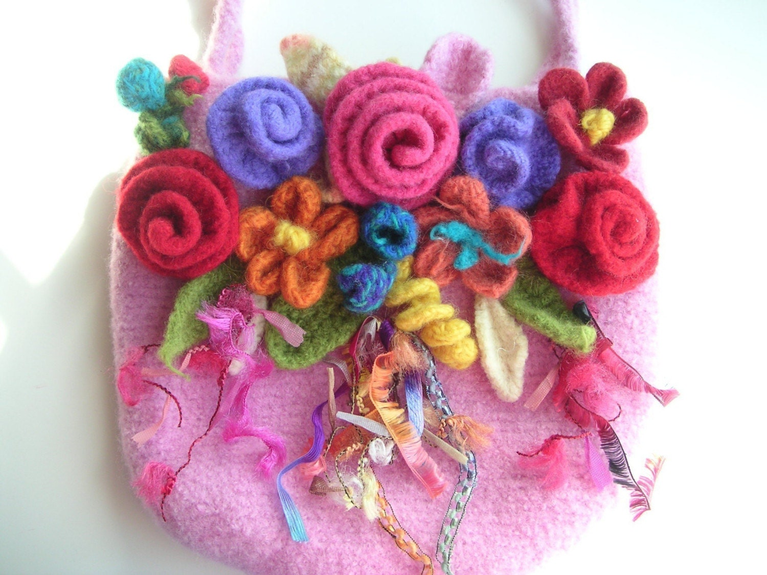 Felted Crochet : Knit Felt in Love with Crochet - Felting