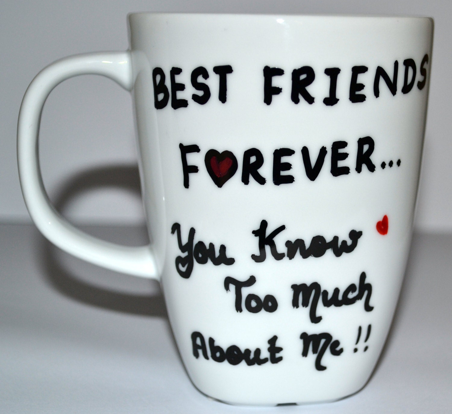 Best friends forever mug bff funny gift for by dreamandcraft for Valentine s day gifts for best friends