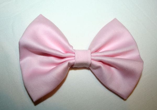 popular items for light pink hair bow on etsy