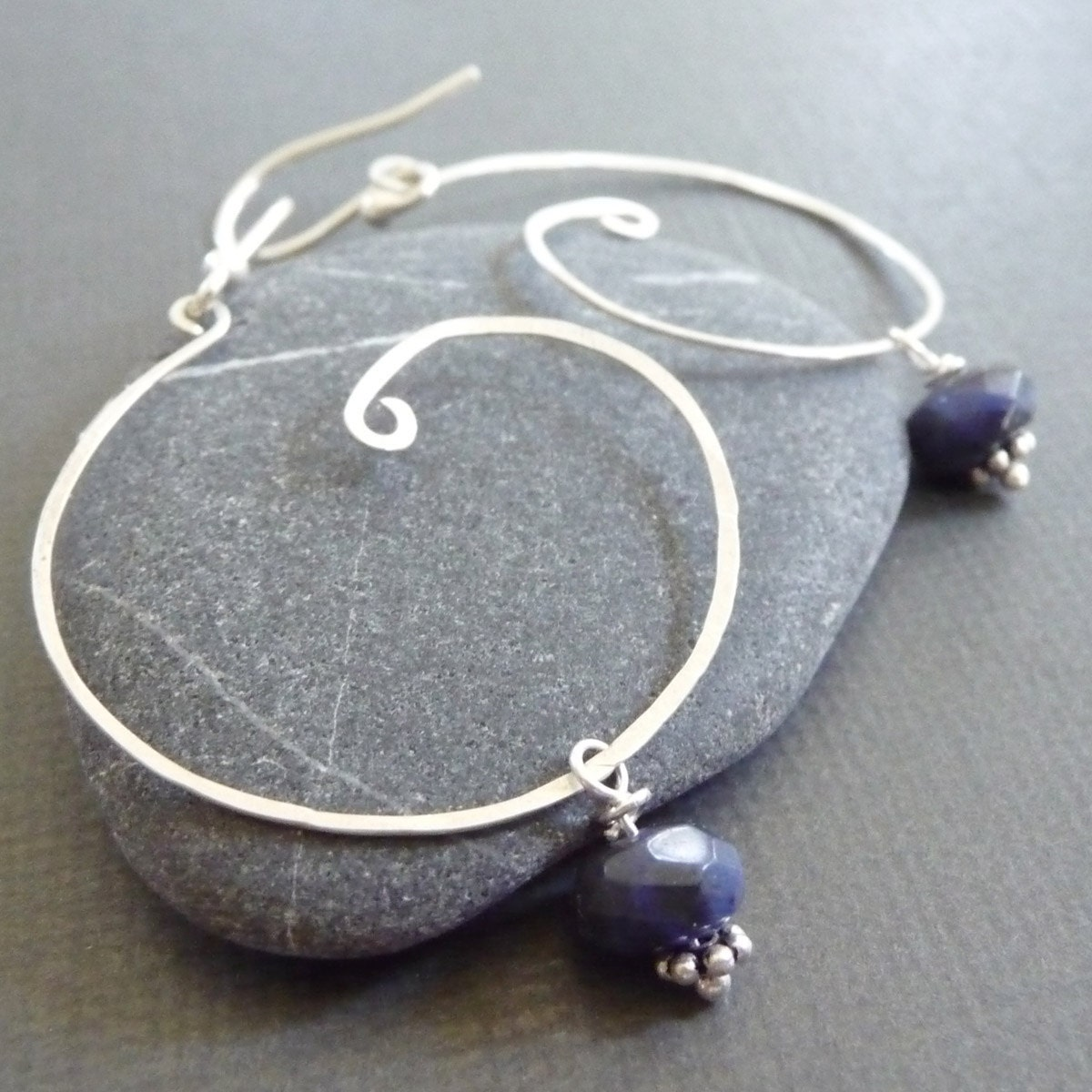 Girl's Night Out Sterling Silver and Sodalite Swirls