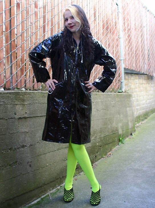 shiny pvc raincoats for women - Clothing - Search, Compare, and