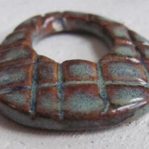 Porcelain Tiled Oval Pendant
