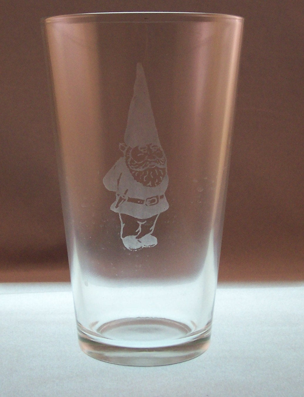 Gnome Pint Glass