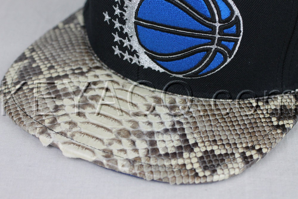 917e2c5db No.200 — Orlando Magic with Authentic Python Belly and Dark Blue ...