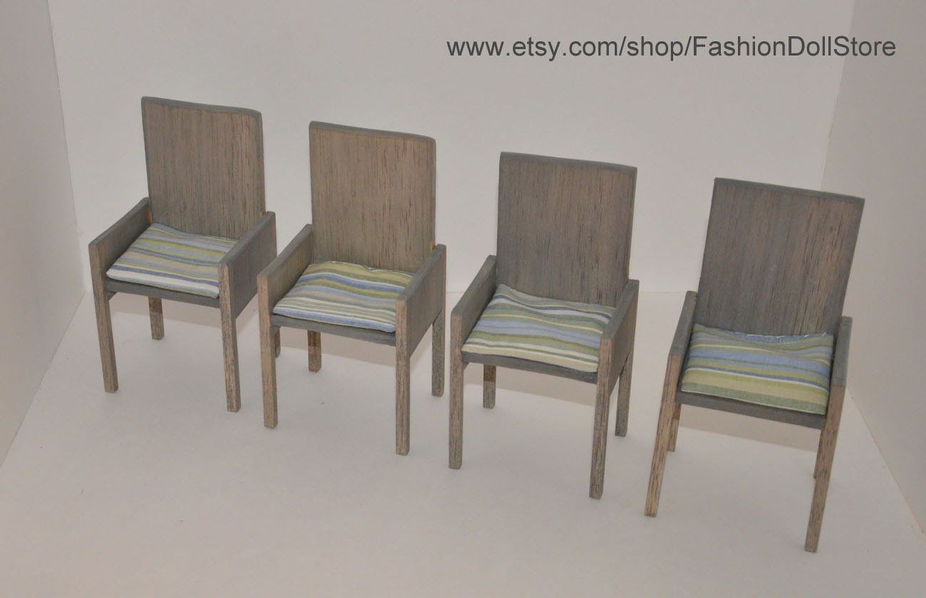 Doll Dining Chair 1 6 Scale Playscale For By Fashiondollstore