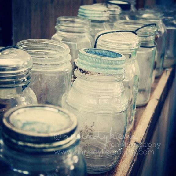 Mason Jars - Fine Art Photograph - annadykema