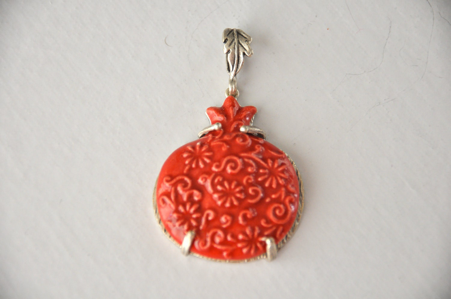 red ceramic  jewelry making materials, REF-152 ,valentine jewelry