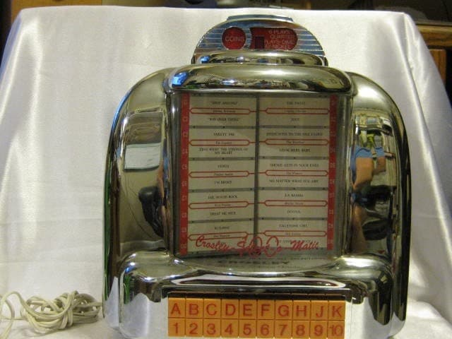 Reproductions likewise SearchResults additionally Thing in addition Crosley Collectors Edition Jukebox Amfm also Red Kitchen Canisters. on crosley radio reproductions