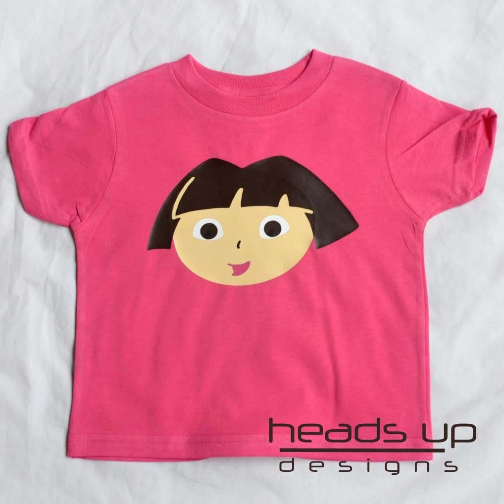 Dora the Explorer Baby Girl Shirt - Dora the Explorer tshirt Baby - t shirt for Baby Dora the Explorer - Dora t-shirt - Costume -