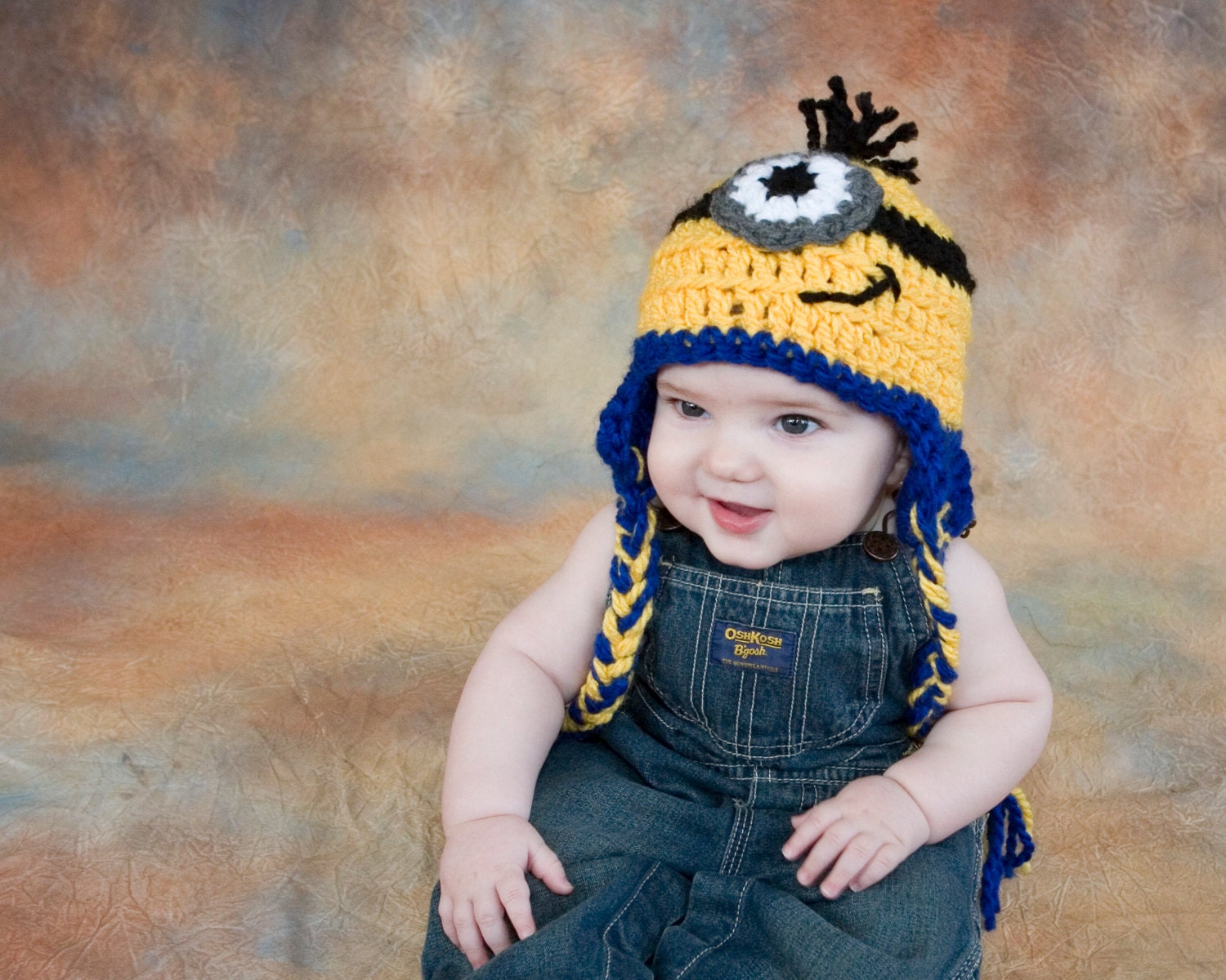 Minion Baby Hat Crochet Pattern Despicable Me by TheTwistedK