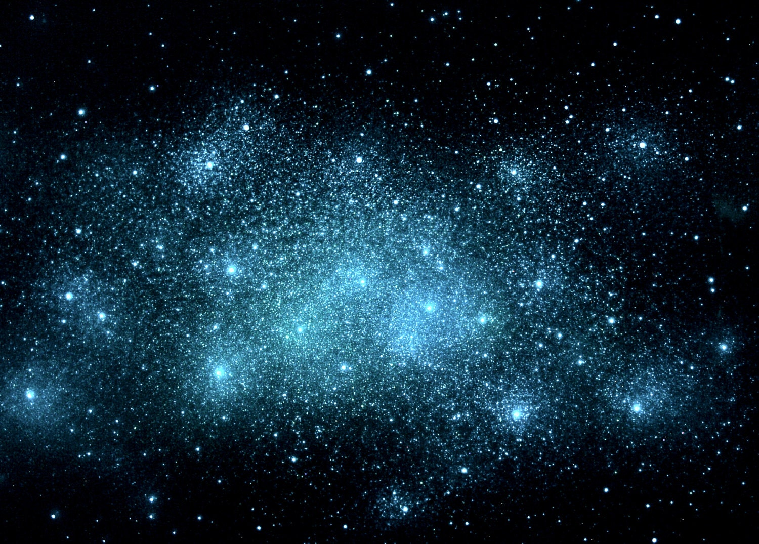 Glow In The Dark Star Cluster Poster Large By Stellamurals