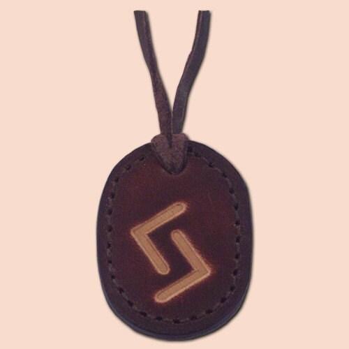 Rune Amulet Necklace - Jera