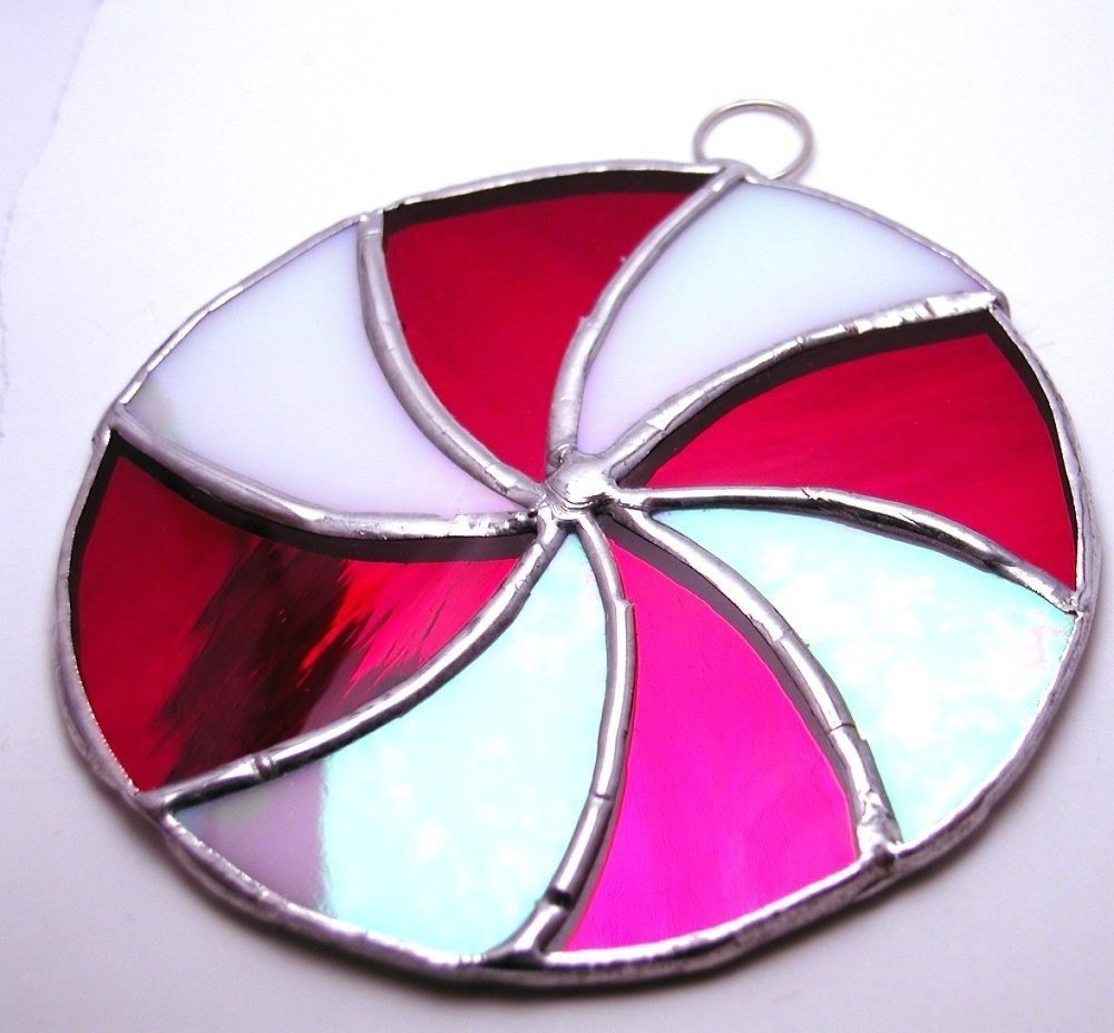 Peppermint  Ornament- suncatcher