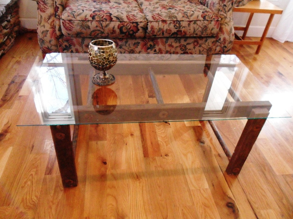 Unavailable listing on etsy for Ladder coffee table
