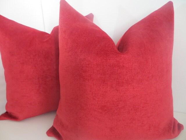 Magenta pillow