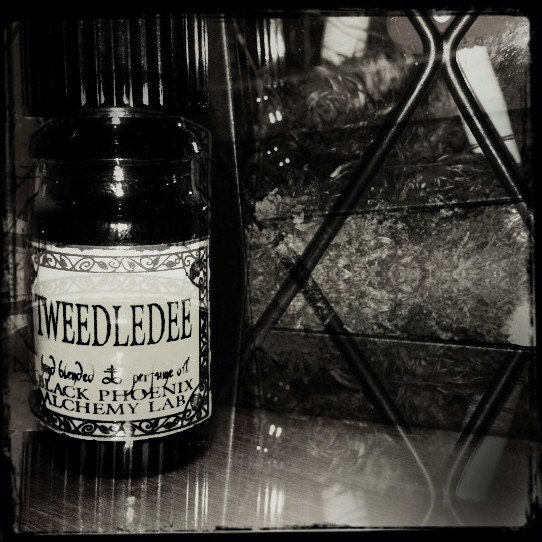 Tweedledee: Black Phoenix Alchemy Lab Alice in Wonderland Perfume Oil