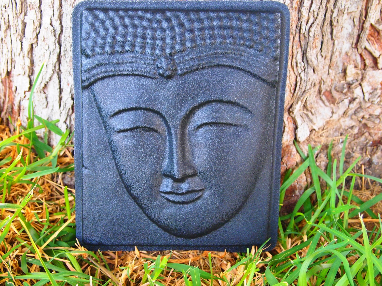 Buddha Wall Plaque ABS Plastic Mold Plaster by KAPCREATIONS