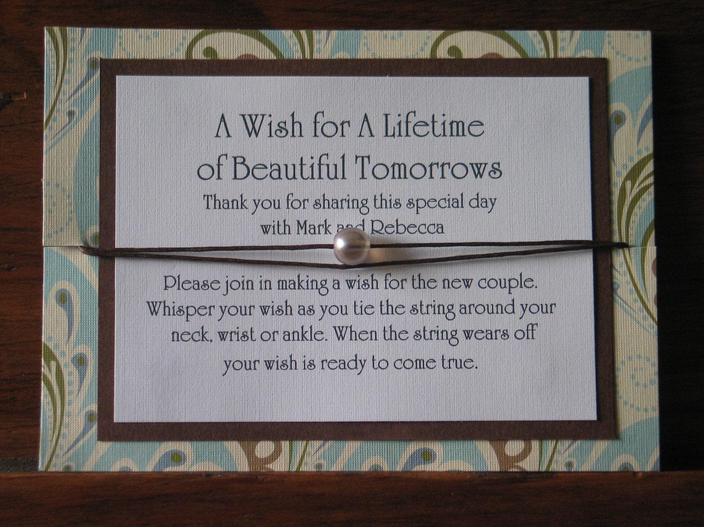 Wedding Wish Bead