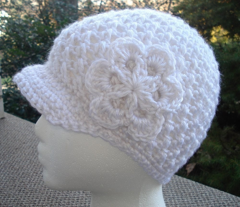 Crochet Newsboy Hat Pattern : CROCHET NEWSBOY CAP PATTERN FREE PATTERNS