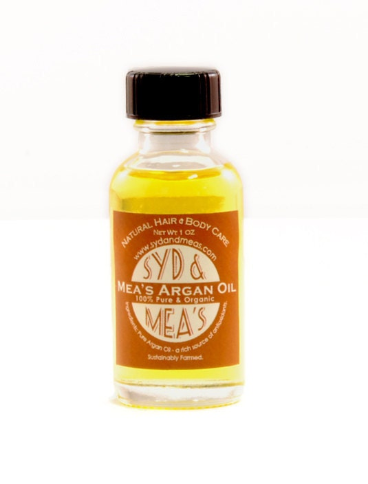 Mea's Organic Argan Oil- Great for Curly Hair