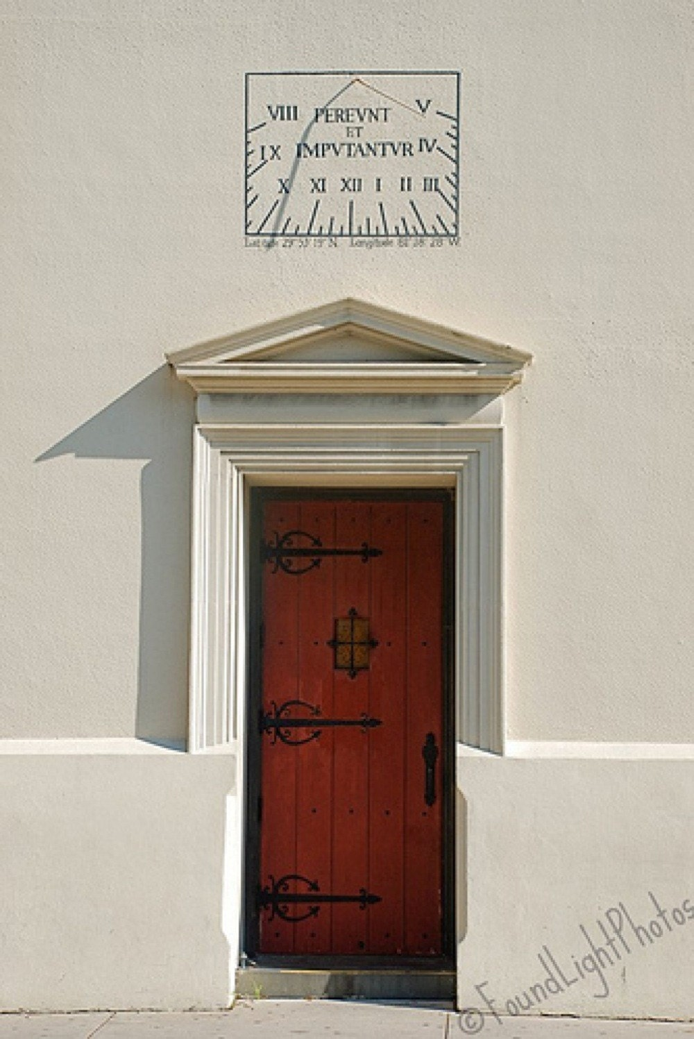 St. Augustine Red Door  8x12 Photograph