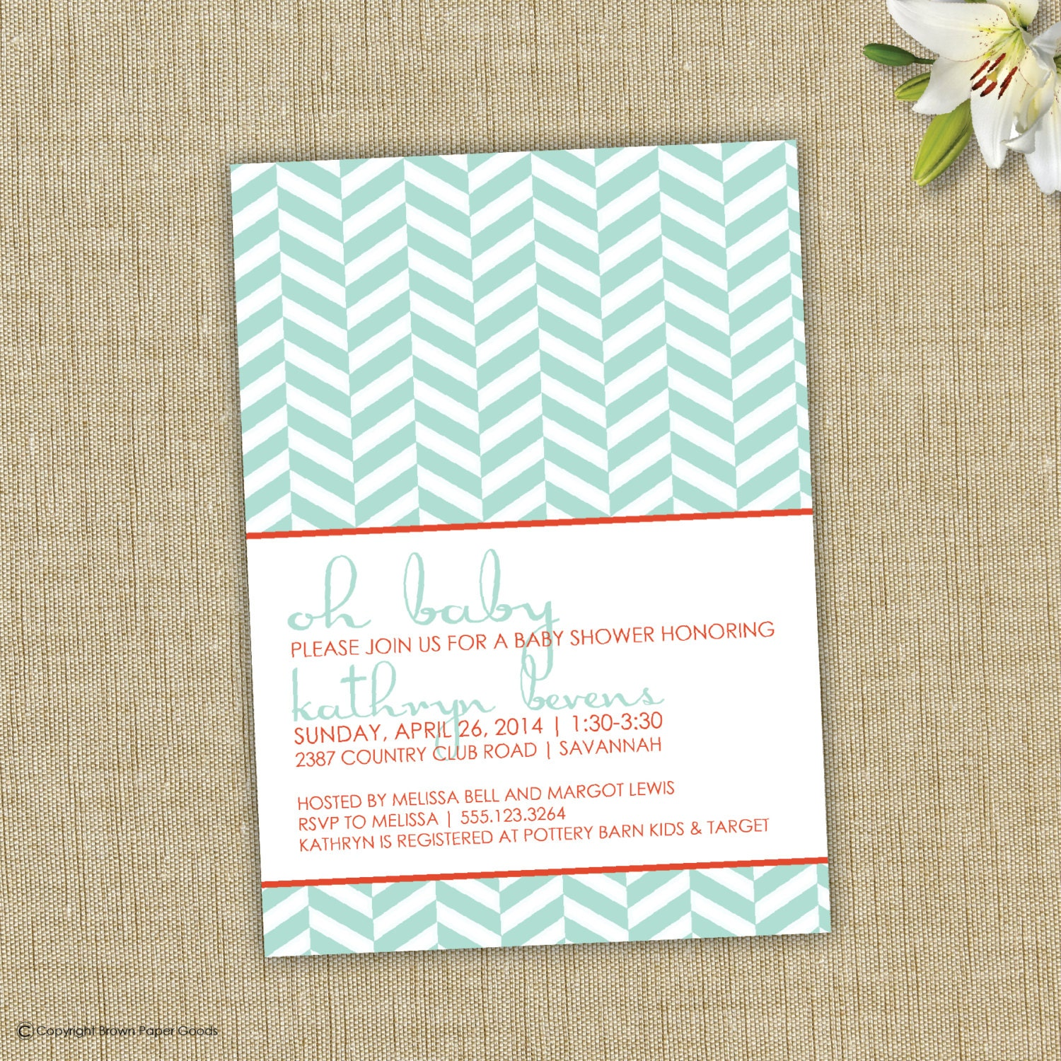 Modern Invitations is best invitation template