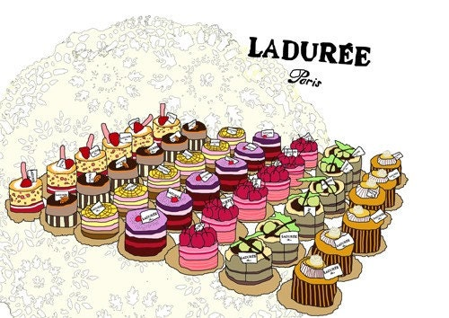 A3 Print - Patisserie