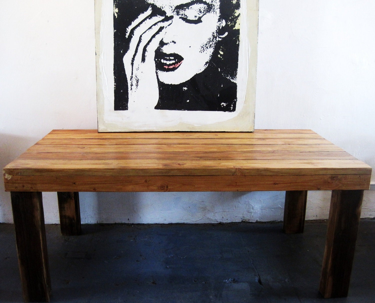 Dining Table Reclaimed Wood Dining Table Los Angeles