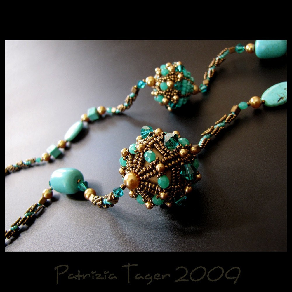 Turquoise Galaxy - Necklace