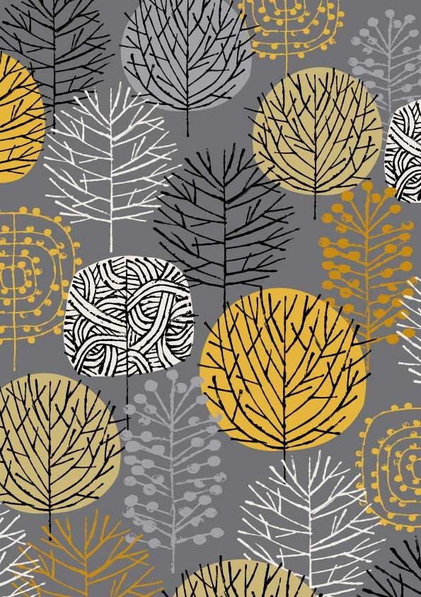 Grey Woodland, limited edition giclee print - EloiseRenouf