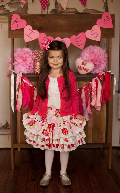 Fun N Funky Valentine Skirt - ChewChewsCloset